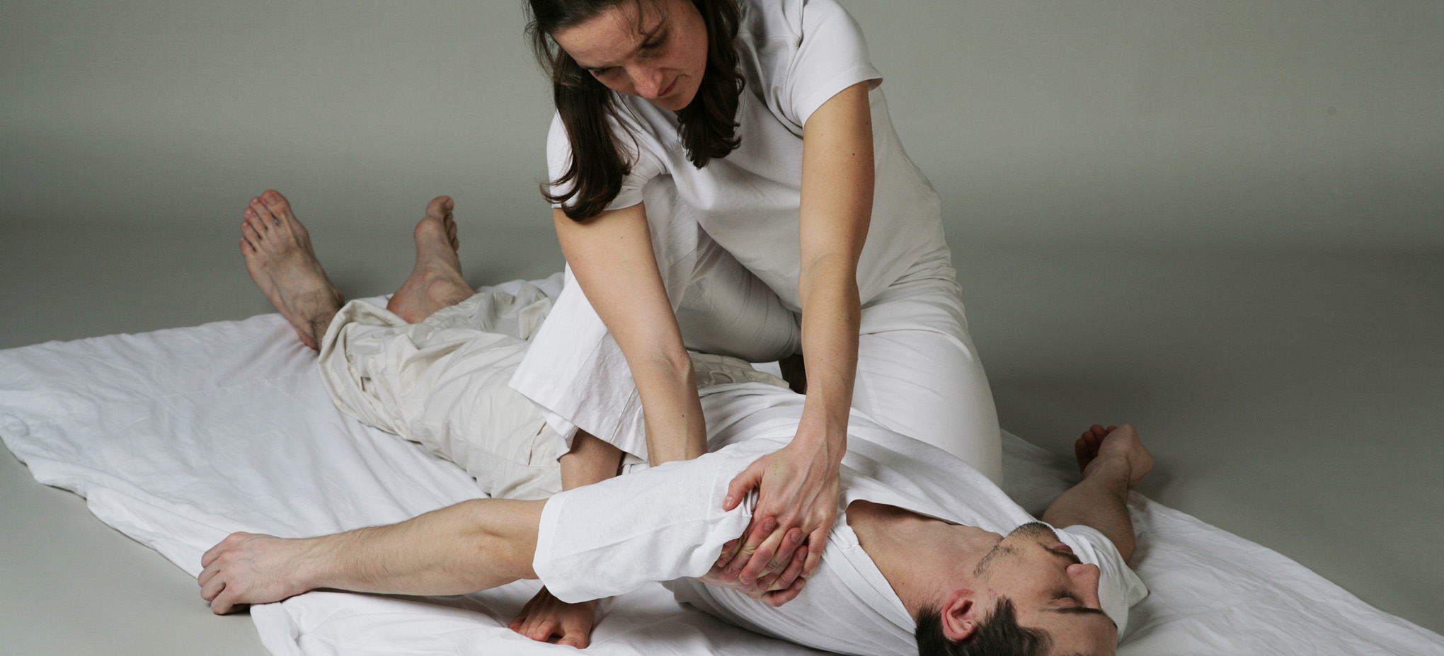 For whom the shiatsu is intended.
